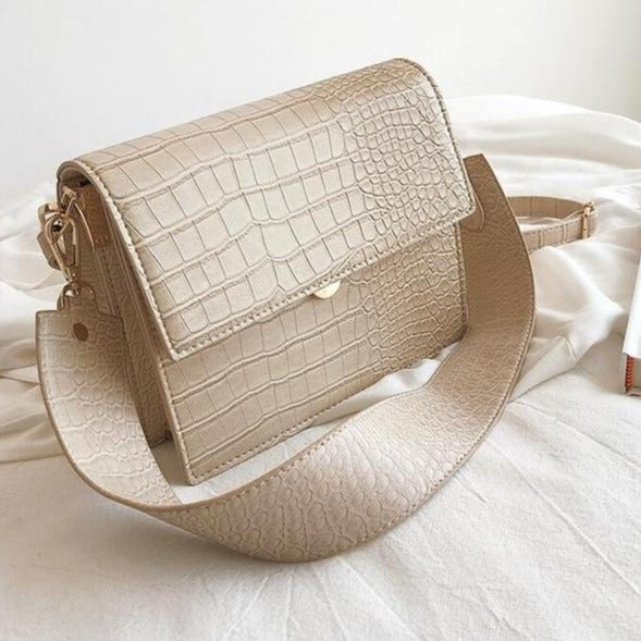 Sylvia Small Crossbody Bag - Beige