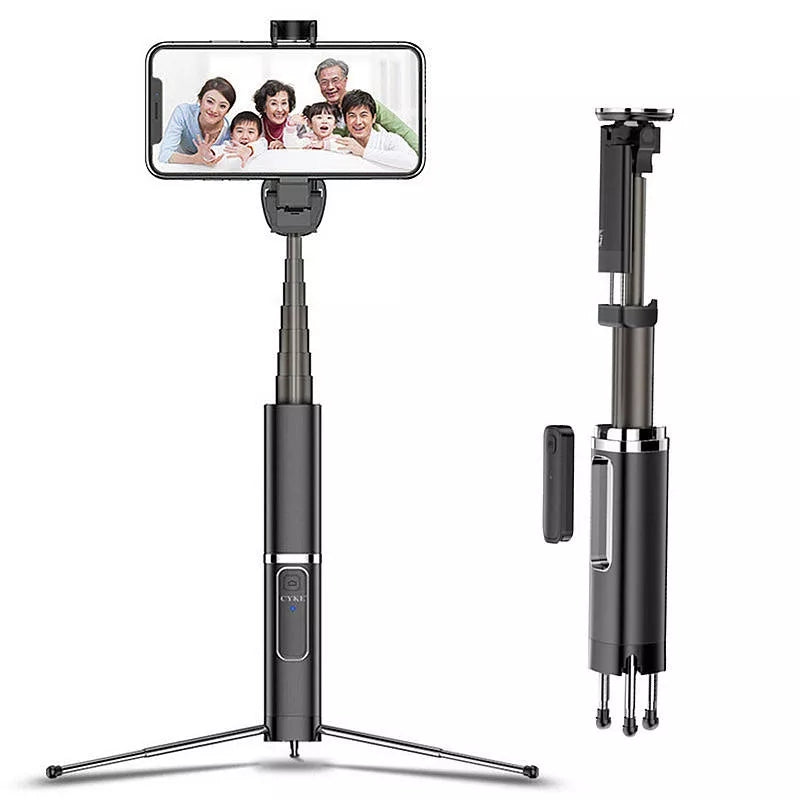PodRight™- USAMS bluetooth Selfie Stick Tripod Remote Extendable Monopod for iPhone 7 8 X Samsung