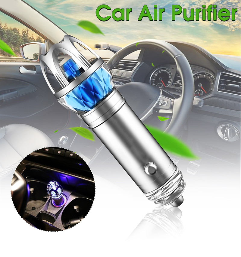 Eazeair™ Car Negative Ions Air Purifier