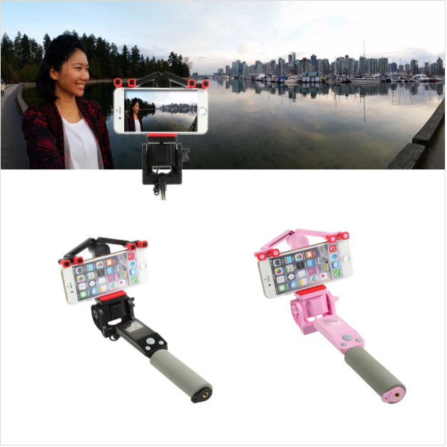 360 Degree Panoramic Robotic Powered Selfie Stick