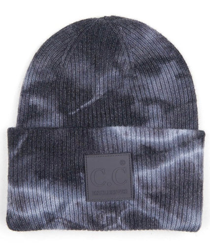 C.C. Beanie - Dark Grey/ Light Grey