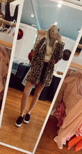 Load image into Gallery viewer, Leopard Parka Coat