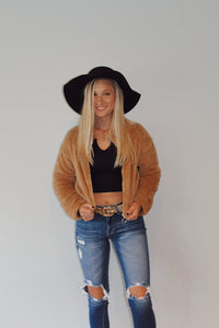 Cropped CoCo Teddy Jacket