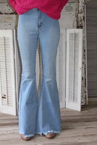 Float on Flare Bell Bottoms