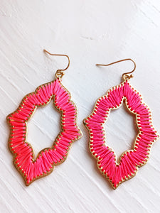 Spring Pink Earrings