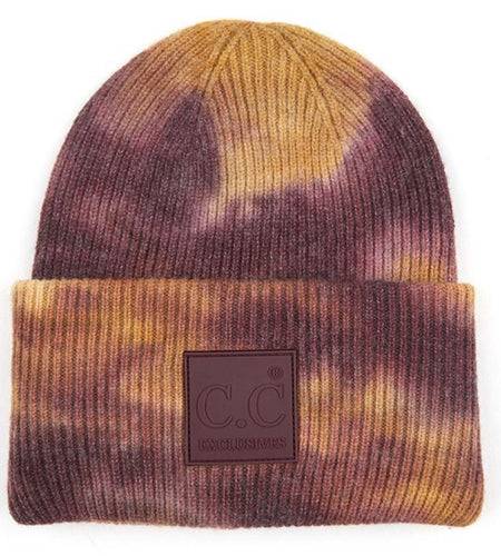 C.C. Beanie - Antique Moss/ Wild Ginger