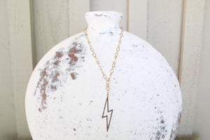 Bright Lightning Chain Necklace