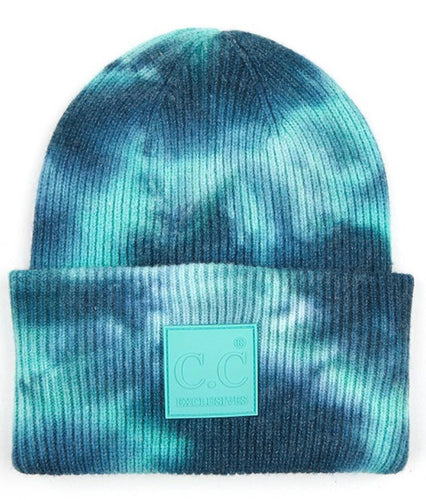 C.C. Beanie - Deep Teal/Sea Green