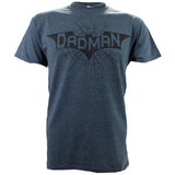Dadman on a Dark Heather Short Sleeve T Shirt