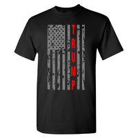 Donald Trump Cool Flag 2020 on a Black T Shirt