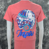 Inspire Southern Charm Collection on a Coral Short Sleeve T Shirt