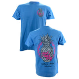 Southern Charm Collection Good Vibes on a Sapphire Short Sleeve T Shirt