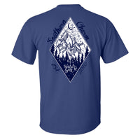 Southern Charm Wild & Free on a Metro Blue Shirt