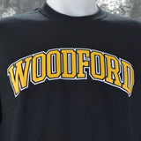 Woodford County Arch on a Black Long Sleeve T Shirt - Versailles, KY