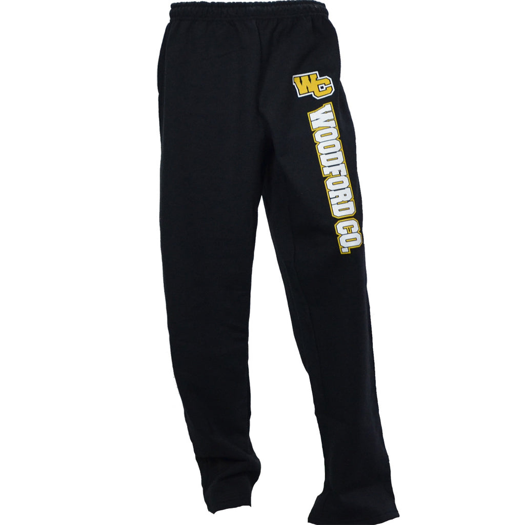WC Woodford County Black Sweatpants