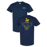 Coastlines Designs Take Me to the Ocean on a Navy T Shirt