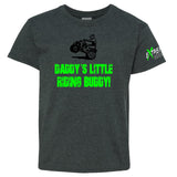 Extreme Muddin Daddy's Little Riding Buddy on a Youth Dark Heather Shirt