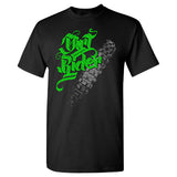 Dirt Rider Extreme Muddin on a Black T Shirt