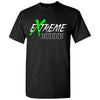 Official Extreme Muddin' Logo T On on a Black T Shirt
