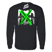 RZR Karnage Approved on a Long Sleeve Black T Shirt