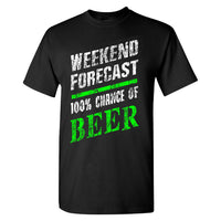 Extreme Muddin Weekend Forecast on a Black T Shirt