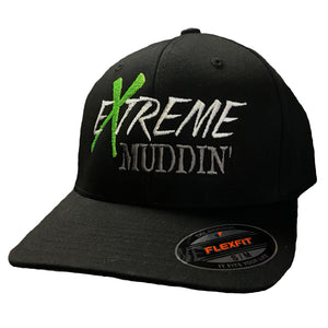 Official Extreme Muddin' Black Flex Fit Hat