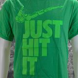 Just Hit It Parody Green Shirt