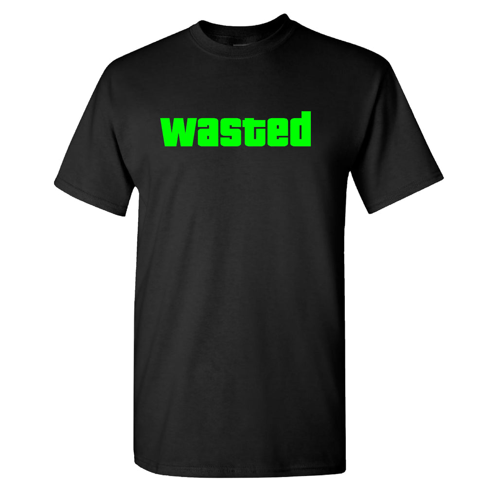 Wasted on a Black T Shirt