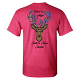 Southern Charm Collection Believe in Magic on a Pink Short Sleeve T Shirt