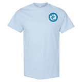 Southern Charm Collection Go Jump in the Lake on a Light Blue T Shirt