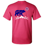 Mama Bear Southern Charm Collection on a Pink Short Sleeve T Shirt