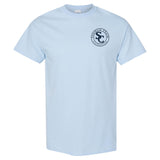 Southern Charm Collection Meet me Where the Sky Meets the Sea on a Light Blue T Shirt