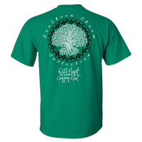 Southern Charm Wild Heart Gypsy Soul on a Green Shirt