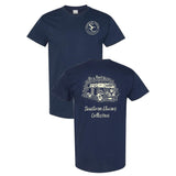 Southern Charm Keep Moving on a Navy Short Sleeve T Shirt