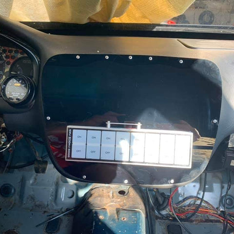 EK Dash Center Console block off