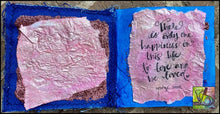 Load image into Gallery viewer, It's all about LOVE! mini journal class by Rita Barakat
