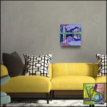 Load image into Gallery viewer, At the Lake an original impressionistic painting by Rita Barakat
