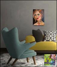 Load image into Gallery viewer, Belle Original oil painting by Rita Barakat