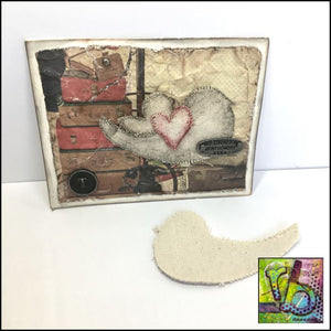 Canvas Die Cuts Birds Cut Shapes