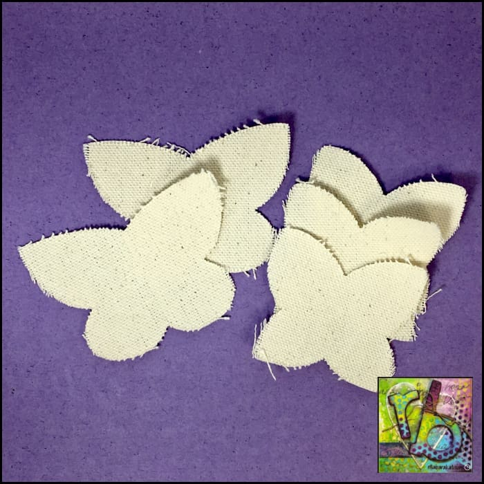 Canvas Die Cuts Butterflies Cut Shapes