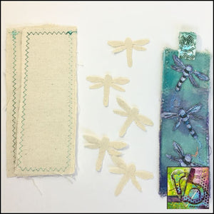 Canvas Die Cuts Dragonflies Cut Shapes