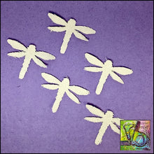 Load image into Gallery viewer, Canvas Die Cuts Dragonflies Cut Shapes