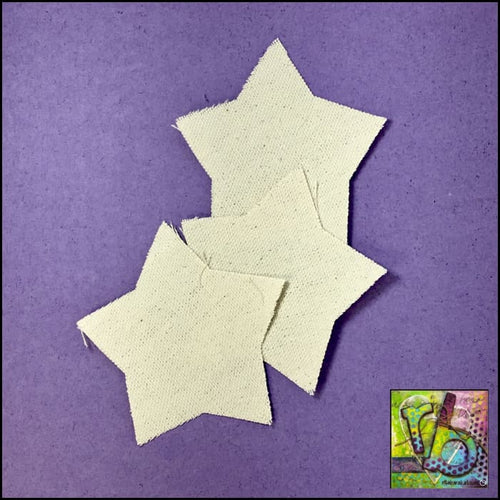 Canvas Die Cuts Medium Stars Cut Shapes