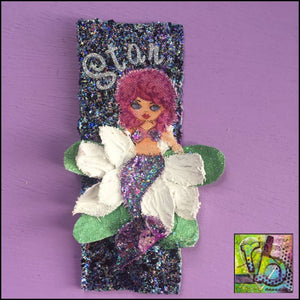 Canvas Die Cuts Mermaids And Shells Cut Shapes