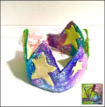 Load image into Gallery viewer, Canvas Die Cuts Mini Stars Cut Shapes