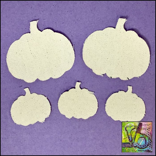 Canvas Die Cuts Pumpkins Cut Shapes