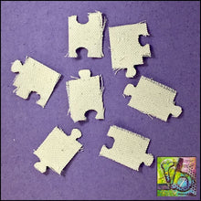 Load image into Gallery viewer, Canvas Die Cuts Puzzle Pieces Cut Shapes