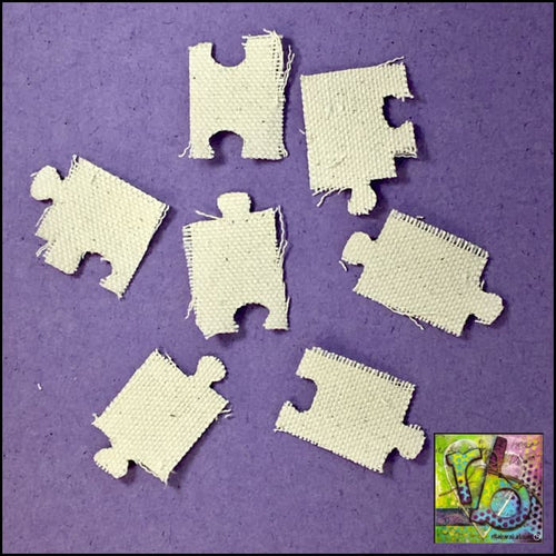 Canvas Die Cuts Puzzle Pieces Cut Shapes