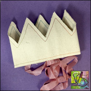 Canvas Diy Crown Accessories