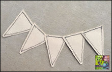Load image into Gallery viewer, Canvas Diy Large Pennants Die Cut Shapes